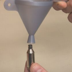 Lyman E-ZEE Powder Funnel 22-50 Cal