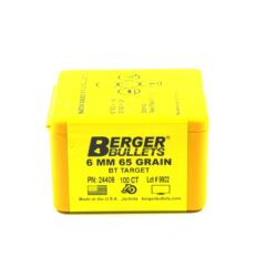 Berger .243/6MM 65 Grain Target Boat Tail (100)