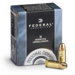 Federal 9MM Luger 115gr JHP Personal Defense